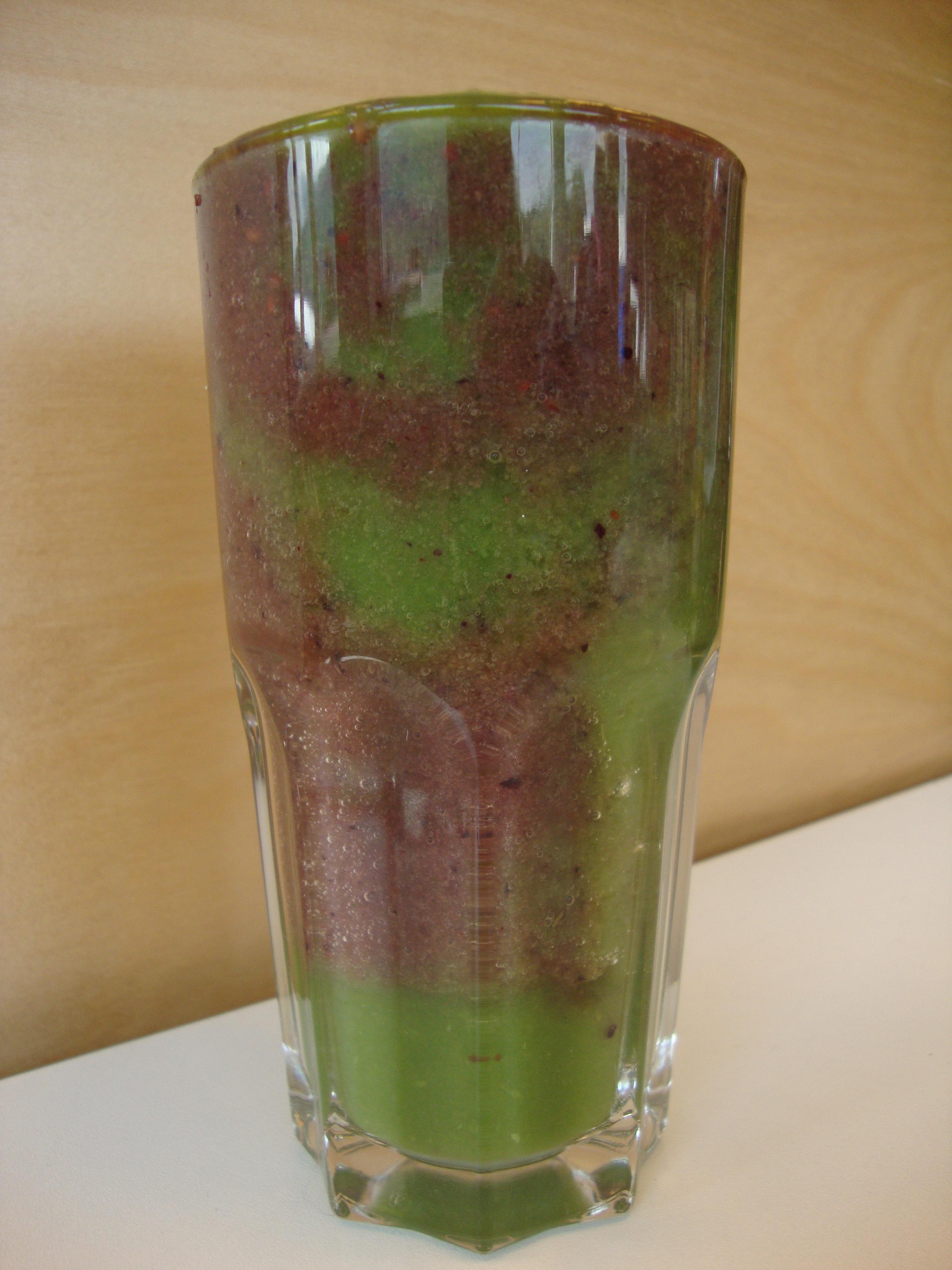 Green & Purple Smoothie Rezept