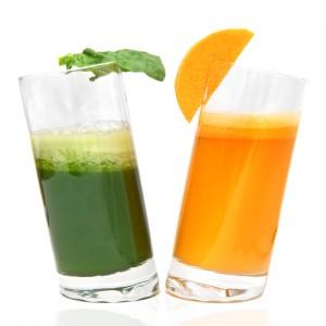Entschlackungskur mit Green Juices