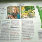 GreenSmoothieLifestyle.com in der Zeitung